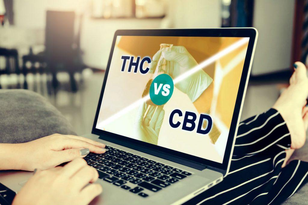 CBD v THC