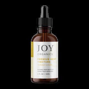 Joy Organics – Premium Hemp Tincture Summer Lemon