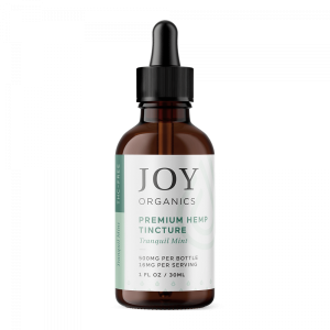 Joy Organics – Premium Hemp Tincture Tranquil Mint
