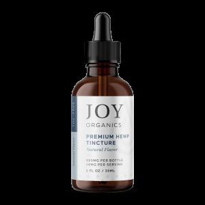 Joy Organics Premium Hemp Tincture Natural Flavor